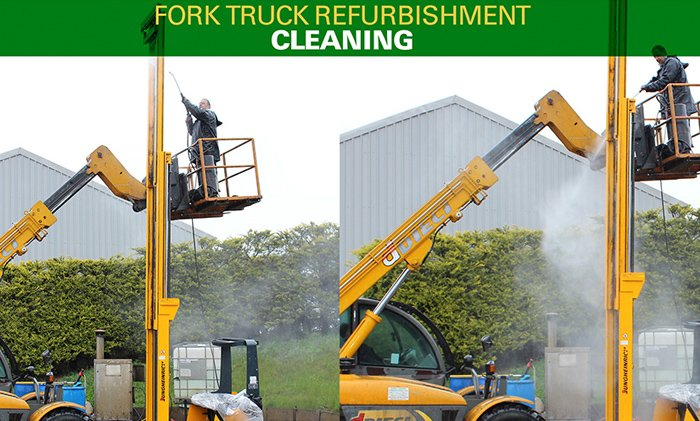 Refurb Truck Cleaning
