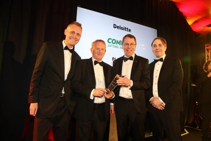 Combilift has received the Deloitte Platinum Best Managed Company award for the 7th consecutive year.