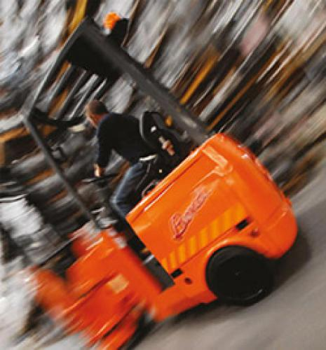 Bendi B320 Articulated Forklift Truck