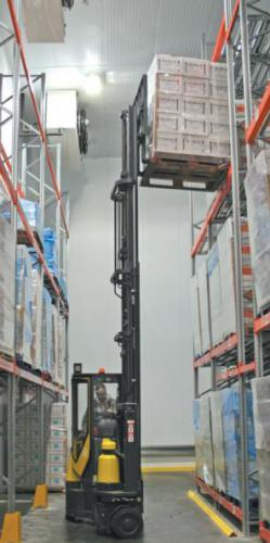 The Aisle-Master Cold Store Cab Forklift