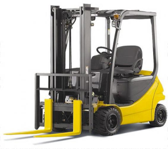 Used Counterbalance Forklift Truck