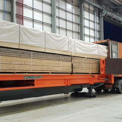 Combilift Slip-Sheet Loads Containers Safely & Efficiently